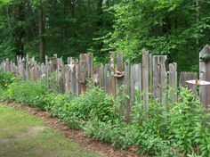 Awesome old fence...by cornbreadandbeansquilting