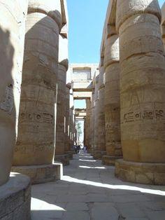 Fotografía: Sandra Rastelli -  Templos de Karnak Temples, Sphynx, Egypt