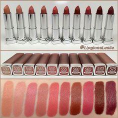 Maybelline Colour Sensational Matte Nude Colours
