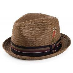 3263c73f2b9 Jaxon Tribeca Toyo Straw Fedora Hat at Amazon Men s Clothing store  Straw  Fedora