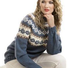 Genser - Viking of Norway Mosaic Patterns, Something Beautiful, Vikings, Knitwear, Knit Crochet, Pullover, Outfits, Hoodies, Knitting