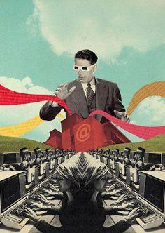Art & Illustrations by Julien Pacaud Pop Art Collage, Surreal Collage, Collage Design, Collage Artists, Surreal Art, Digital Collage, Art And Illustration, Art Illustrations, Collages