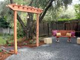 How To Build A Redwood Arbor