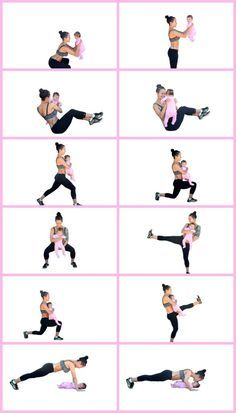 20 minute mommy and baby home workout Postpartum Fitness