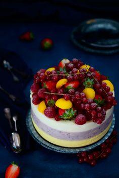 Receta de mousse de mango, frutas del bosque y lima limón - Megasilvita