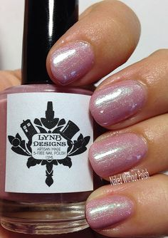 LynBDesigns Millennium Park Pink in direct light Swatch, Nail Polish, Manicure, Manicures, Nail Polishes, Polish, Pattern