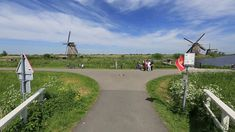 Spinner Video Virtual Cycle  Dutch Windmills Kinderdijk Video for your T...