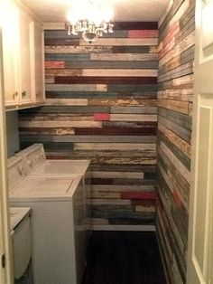 Discover thousands of images about A Laundry Room Surprise: After from this old house reader remodel Best Built-Ins Before and Afters 2013 Pallet Walls, Wooden Walls, Plank Walls, Built Ins, Old Houses, Home Projects, Home Remodeling, House Plans, New Homes