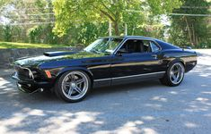 Mustang Cars : Illustration Description a fine vintage. Mach 1 Mustang by ACS Garage on Forgeline 1970 Mustang Mach 1, Ford Mustang Shelby Cobra, Mustang Fastback, Mustang Cars, Shelby Gt500, Ford Mustangs, Mustang Muscle Car, Combi Vw, Classic Mustang
