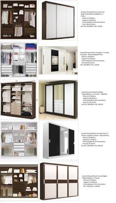 Ideas for wardrobe closet furniture Wardrobe Design Bedroom, Wardrobe Closet, Closet Bedroom, Bedroom Decor, Dressing Design, Wardrobe Organisation, Organization, Closet Layout, Bedroom Cupboards