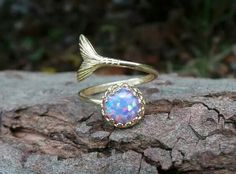 Mermaid for me Cute Jewelry, Jewelry Box, Jewelery, Jewelry Accessories, Unique Jewelry, Bullet Jewelry, Gothic Jewelry, Mermaid Ring, Mermaid Jewelry