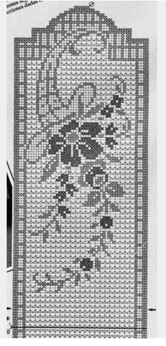 Crochet And Arts: Filet Crochet Wipes - maallure Crochet Books, Crochet Home, Thread Crochet, Diy Crochet, Crochet Stitches, Crochet Ideas, Crochet Table Runner Pattern, Crochet Tablecloth, Filet Crochet Charts