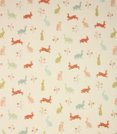 Nursery on pinterest curtain fabric baby rooms and for Curtain fabric for baby nursery