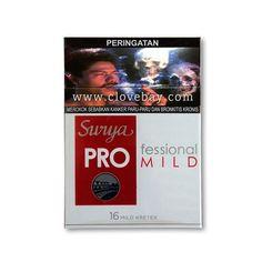 Gudang Garam Surya Pro Professional 16 Kretek Filter