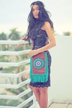 cross body navaho bag