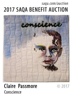 Art quilt by Claire Passmore