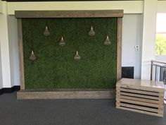 Photo wall or backdrop that can be detailed with florals or left simple and masculine.