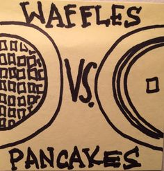 The Difference Between Waffles and Pancakes [Alton Brown]