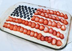 10 Festive Red, White and Blue Recipes for any Red, White, and Blue holiday :)