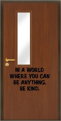 Inspirational Classroom Door Decals | Jane