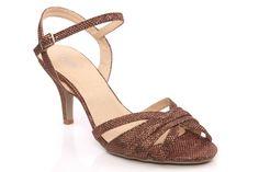 Womens 'Amelia' Peep Toe Sandals
