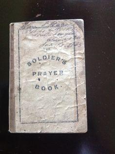 Rare Uncommon Civil War Union Soldier's Prayer Book