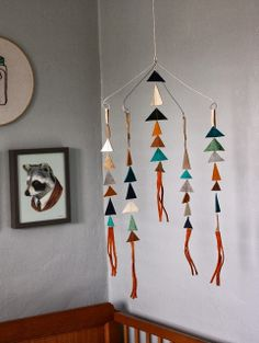 Even though I plan to make a dream catcher mobile... I still really love this mobile.