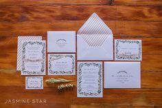 INVITATIONS!!    Loft on Pine : Wedding Inspiration - Jasmine Star Blog