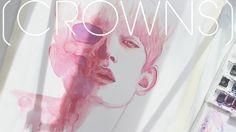 [CROWNS] Watercolor Portrait
