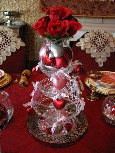 valentine's day tablescapes | ... table: Tablescape Thursday - Valentine's Day Centerpiece