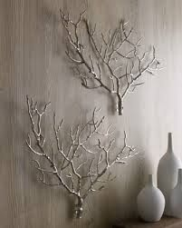 branch decor - Google Search Would be good for an appartment Christmas tree! :3