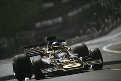 1973. Ronnie Peterson_2. Lotus - Ford Cosworth 72E.