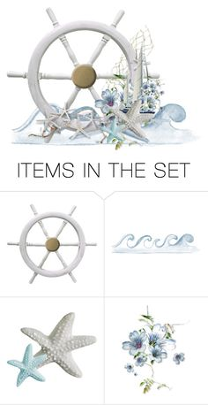 """""""sailing"""" by chimechn ❤ liked on Polyvore featuring art"""