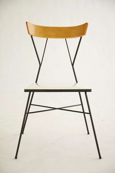 Pavillion Collection Wrought Iron & Plastic Chair designed by Paul McCobb, 1935 Manufacturer: Arbuck Style no. 76