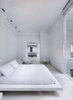 White, White White in a Spectacular home in Monza, just outside of Milan, Italy.