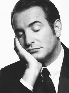 "Jean Dujardin. The only one to be an ""almost Clark Gable meets Cary Grant"" kinda guy! Love him"
