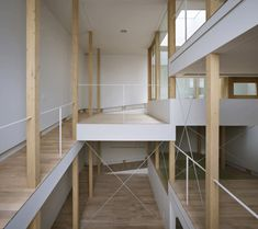 This just looks like it'd be fun and full of pranks to pull. Wish I could see the section. House of Slope by Fujiwarramuro Architects
