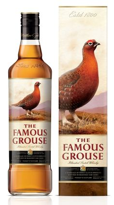 The Famous Grouse Blended Scotch Whisky by effie