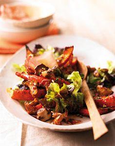Kürbis-Pilz-Salat - Rezepte - [LIVING AT HOME]