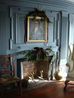 Holiday décor for Middle Street Walk, 2011. Sargent House Museum, Gloucester, Massachusetts.