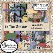 In the Garden Cookbook Ideas, Digital Scrapbooking, Garden, Projects, Log Projects, Garten, Blue Prints, Lawn And Garden, Gardens