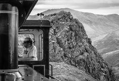 Top Job - Driving the Snowdon Mountain Railway North Wales, Landline Phone, Mountain, Top, Crop Shirt, Shirts, Mountaineering