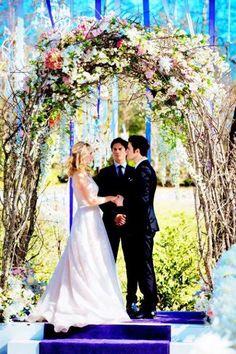 Steroline wedding  #8x15   #TVDforever