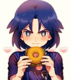Inazuma Eleven Go, Kawaii Anime, Fan Art, Manga, Artist, Red Face, Fictional Characters, Emoji, Identity