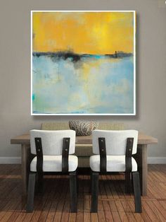 Abstract Landscape Print on Paper, Large Paper Print, Minimal, Minimalist Art, Coastal, Yellow Art Wall Decor, New England Landscape Art by jgouveia on Etsy https://www.etsy.com/listing/532513985/abstract-landscape-print-on-paper-large