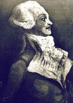 Portrait of Robespierre.