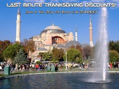 LAST MINUTE #Thanksgiving Discounts! Save on Your Trip with Promo Code TURKEY.   http://www.royaltytrips.com/go.asp?url=http://bit.ly/1ohYf0m  #travel #vacation