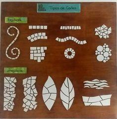 How a Trencadís is made – Mosaic Mosaic Flower Pots, Mosaic Pots, Mosaic Glass, Fused Glass, Stained Glass Patterns, Mosaic Patterns, Stained Glass Art, Mosaic Tile Art, Mosaic Artwork