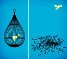 "Surreal Illustrations by Tang Yau Hoong. ""Droplet""."
