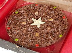 Christmas Chocolate Pizza ... :)